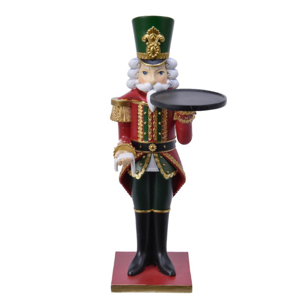 Nutcracker With Serving Plate 35cm