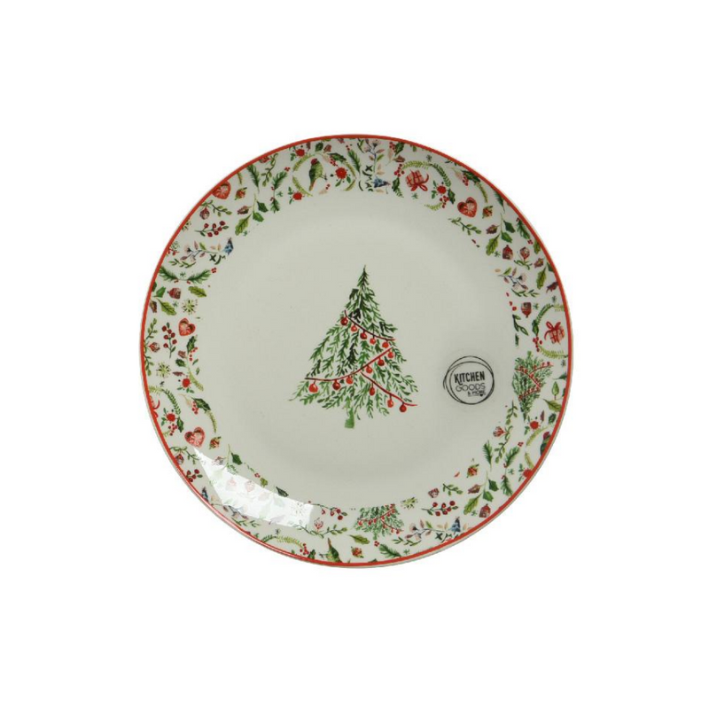 Christmas Breakfast Plate 20cm