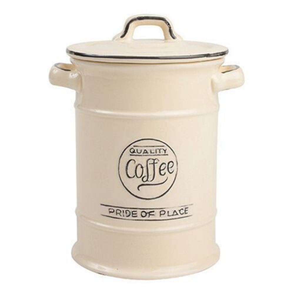 Pride Of Place Coffee Storage Jar - Cream