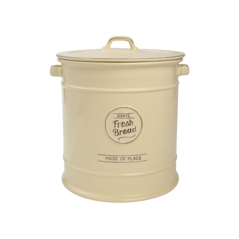 Pride Of Place Bread Crock - Cream
