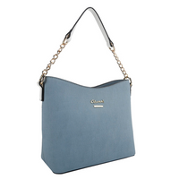 Dan Curved Top Textured Bag