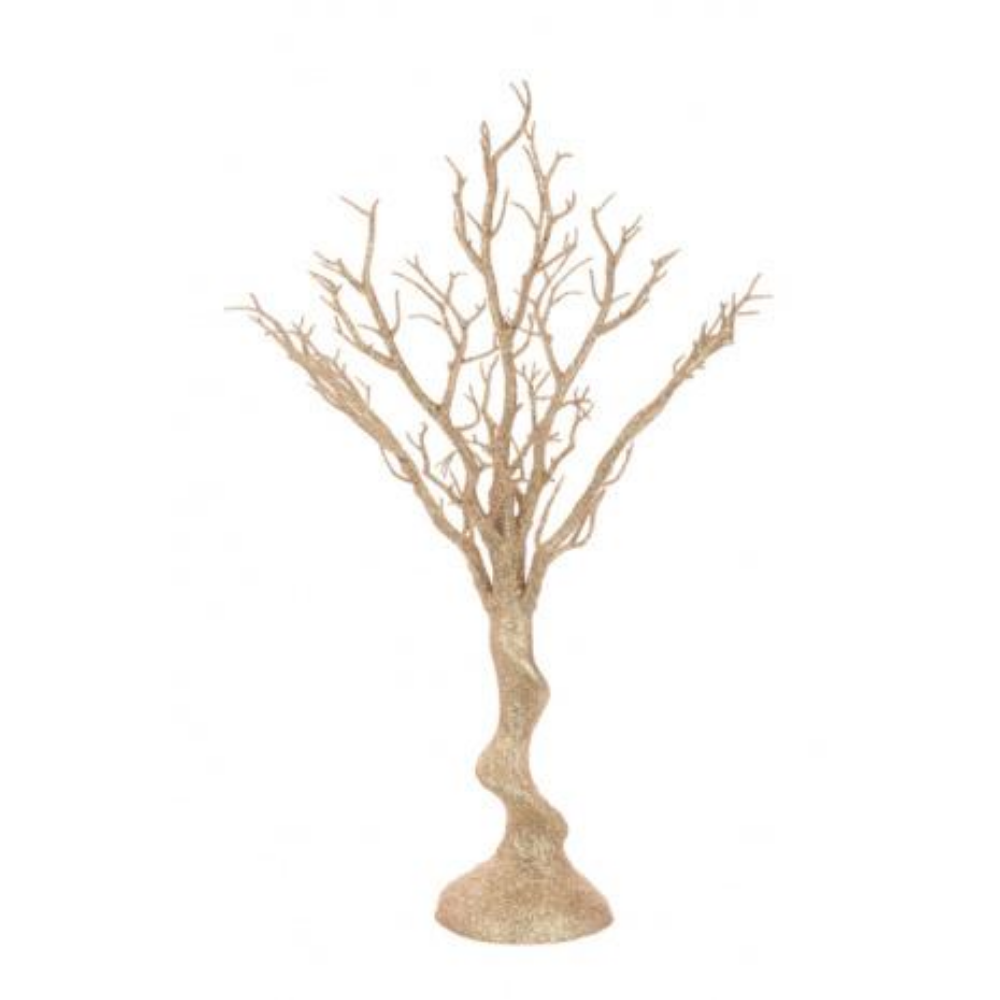 Glitter Twig Table Tree Gold, 61cm