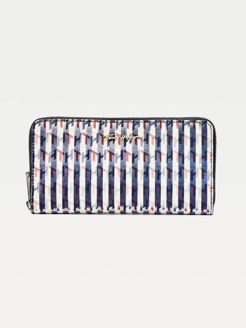 Iconic Holographic Monogram Large Wallet