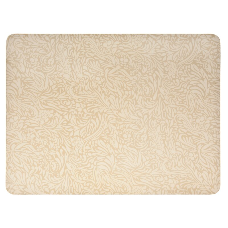 Monsoon Lucille Gold Set of 4 Placemats