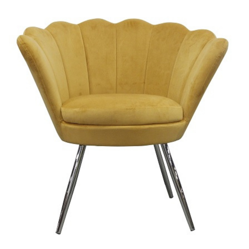 Accent Chair, Sunset Mustard