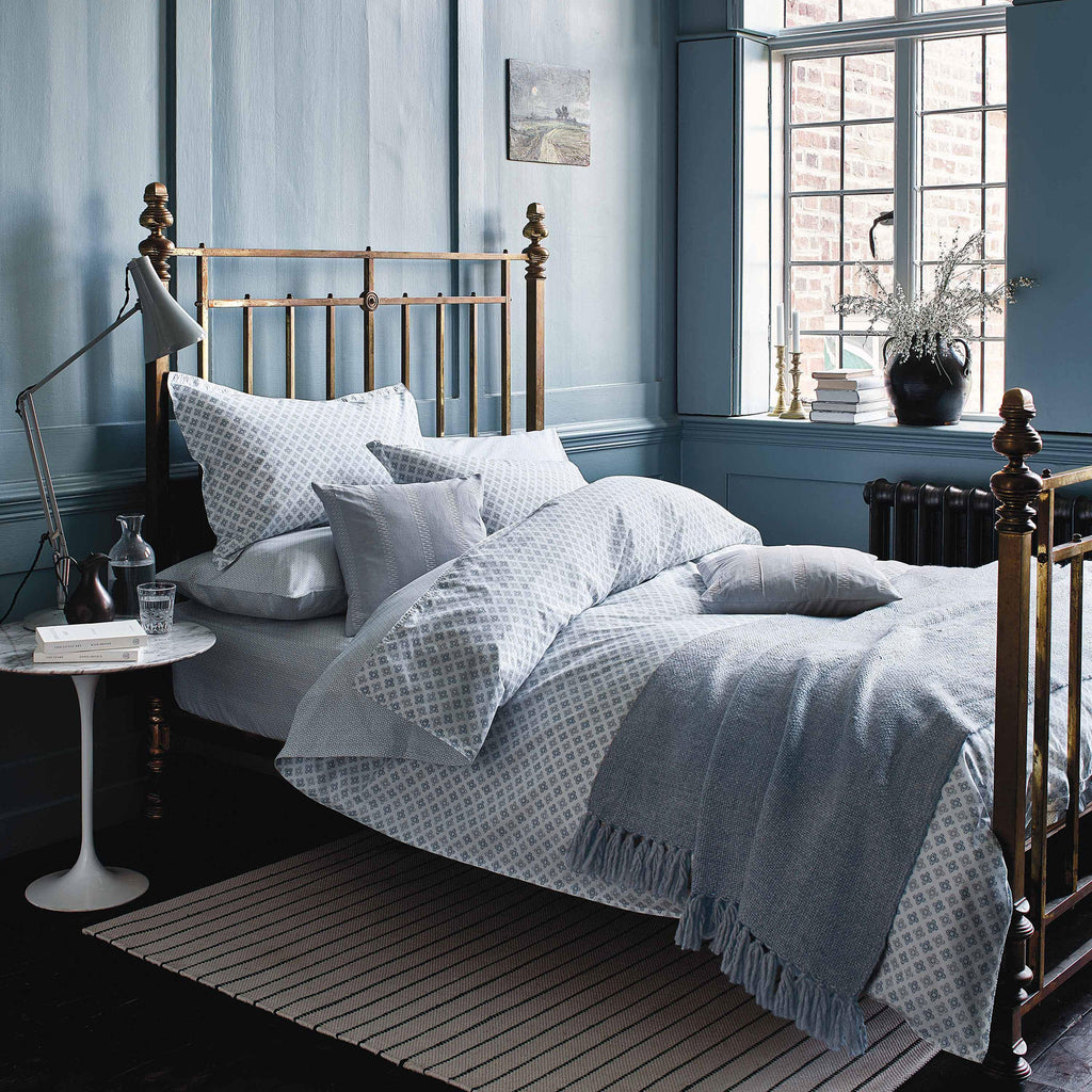 Murmur Mya Duvet Set in Sky blue