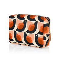 Orla Kiely Dove Large Cosmetic Bag