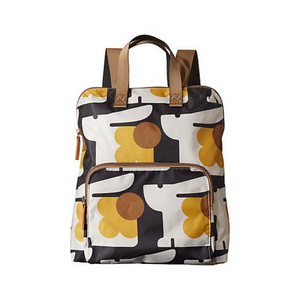 Yellow/Black Bonnie Bunny Print Backpack