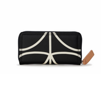 Forget Me Not - Big Wallet - Liquorice