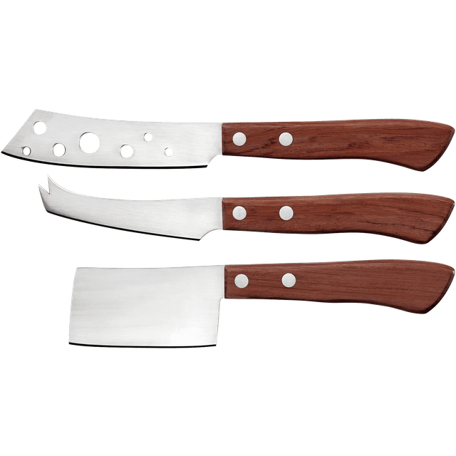 Judge Book Set: 3 Piece Cheese Knife Set