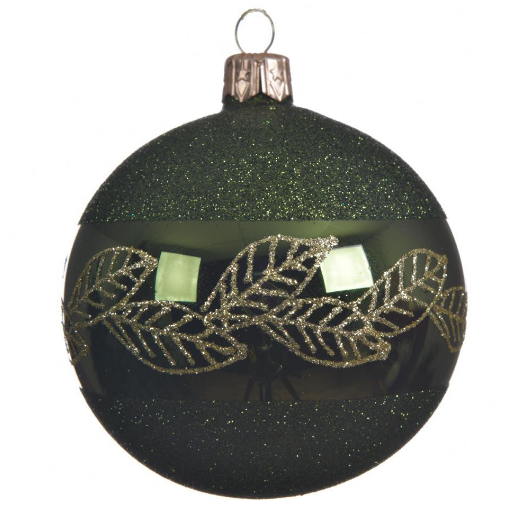 pine green christmas bauble 2020 gift and art gallery