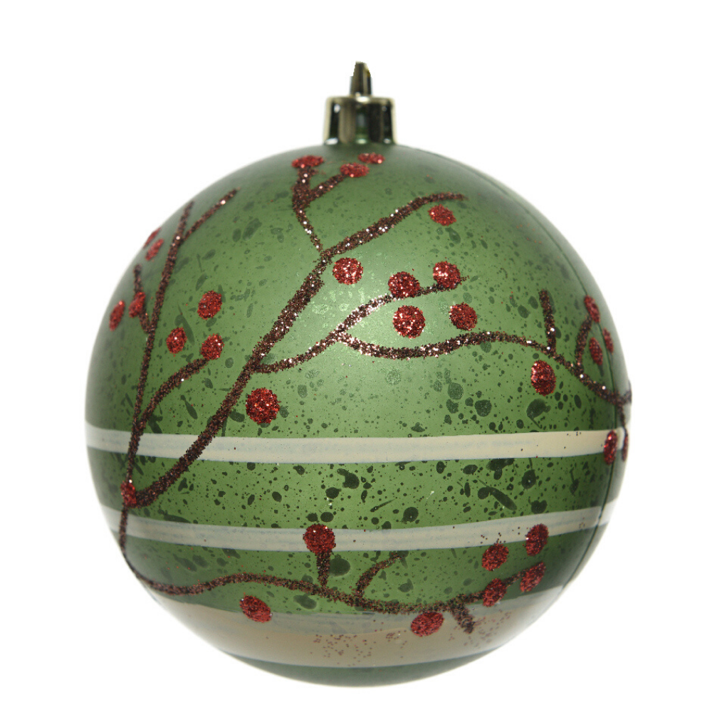 Pine Green Christmas Bauble