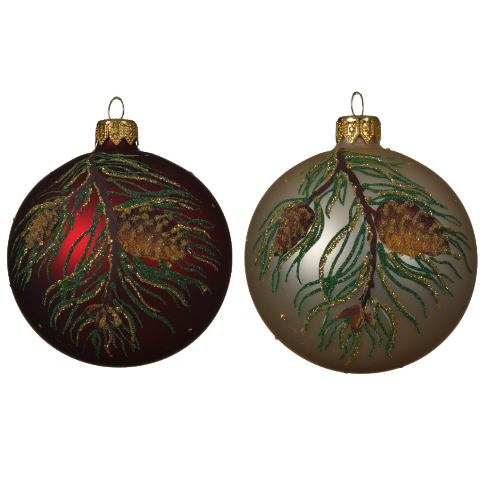 Pinecone Christmas Bauble