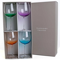 Rainbow Party Pack Set of 4 Gin Glasses 670ml
