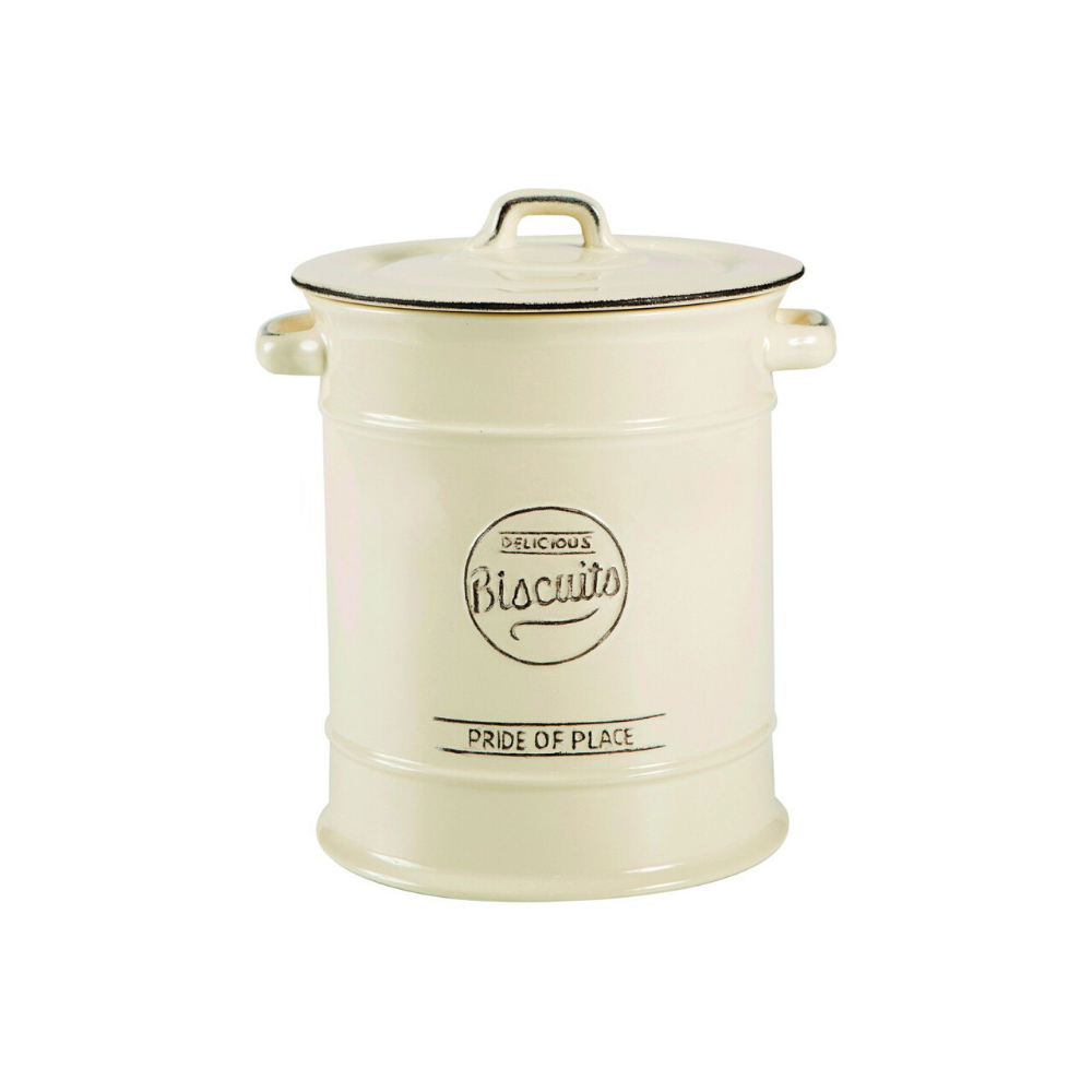 Pride Of Place Biscuit Jar - Cream