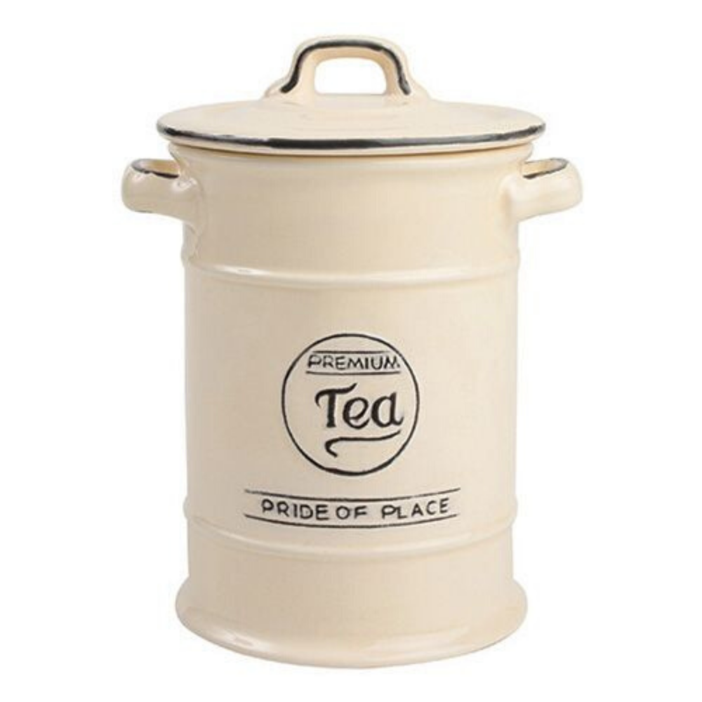 Pride Of Place Tea Storage Jar - Cream