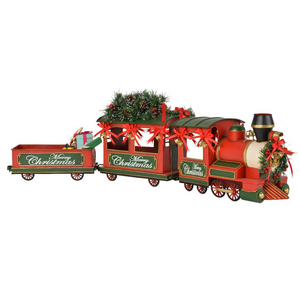 Christmas Train With Tree & Gifts