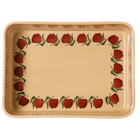 Large Rectangle Oven Dish Apple