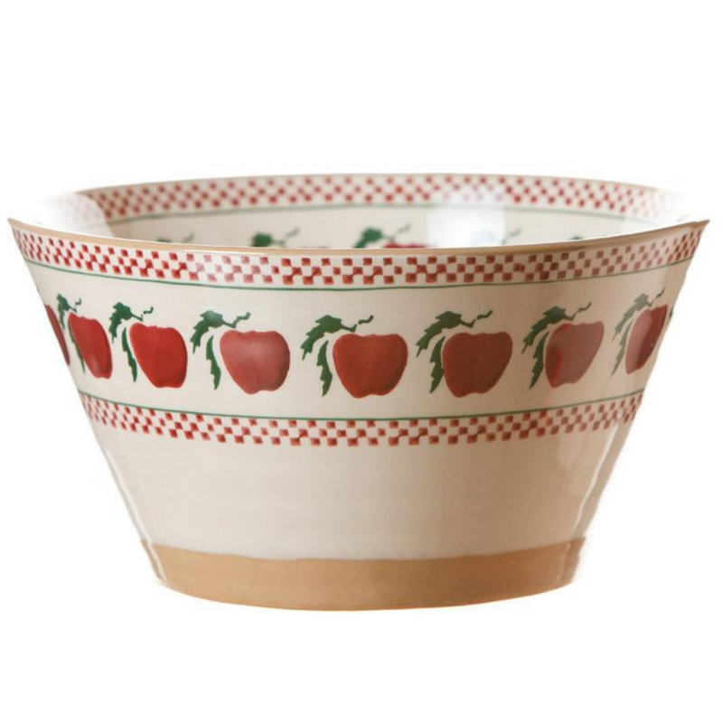 Large Angled Bowl Apple