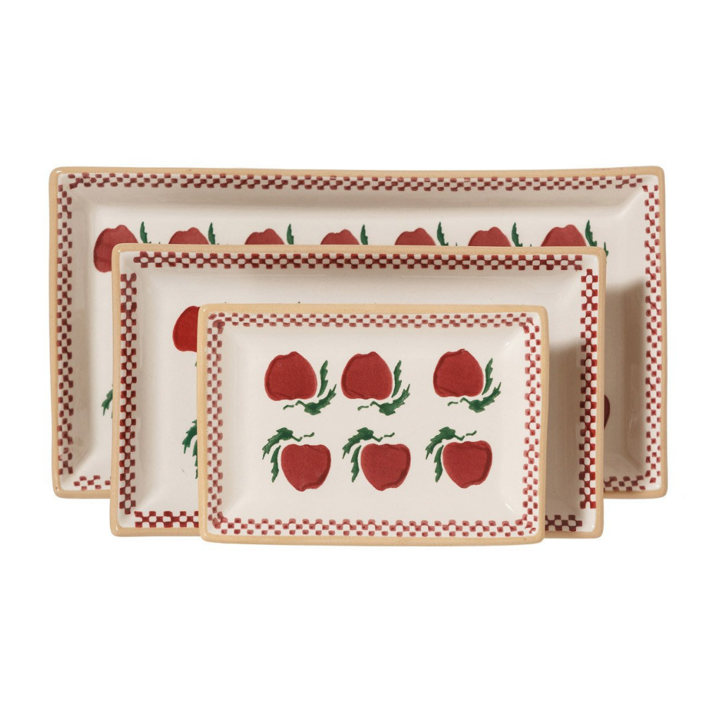 Rectangle Dishes Apple