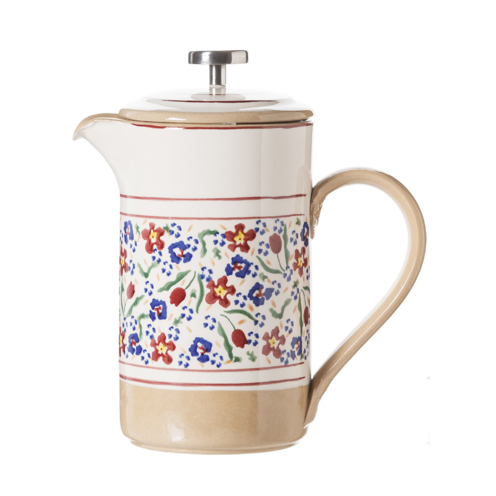 Large Cafetiere Wild Flower Meadow