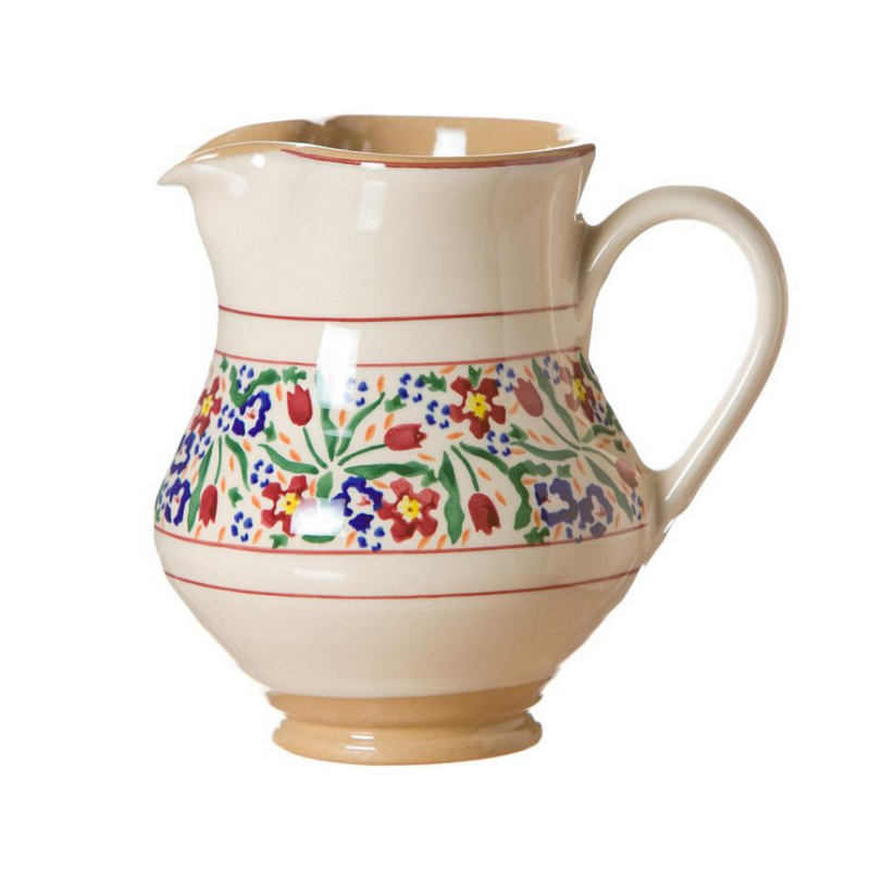 Medium Jug Wild Flower Meadow