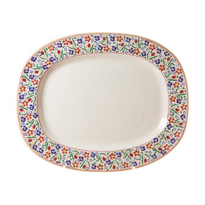 Oval Platter Wild Flower Meadow