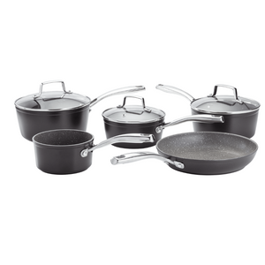 Rocktanium 5 Piece Saucepan Set