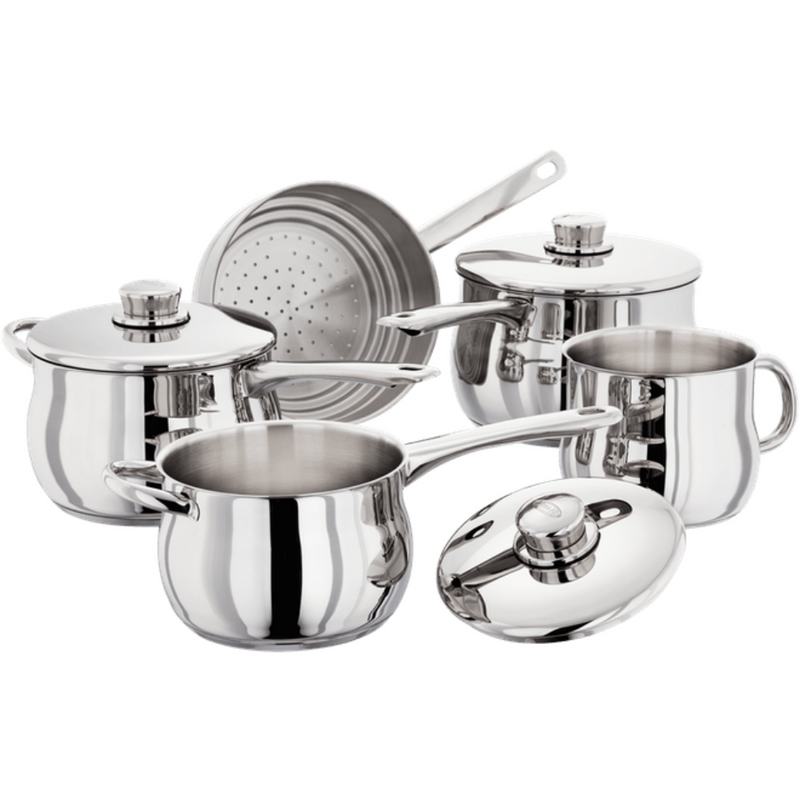 1000 5 Piece Deep Saucepan Set