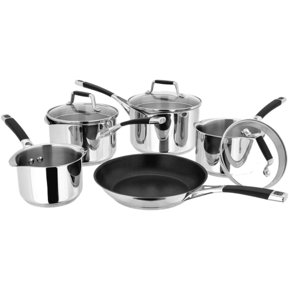 5000 5Piece Draining Saucepan Set