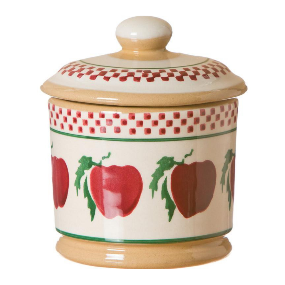 Lidded Sugar Bowl Apple