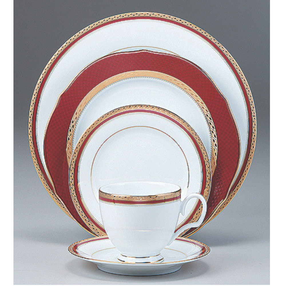 Cecile Gold 47 Piece Dinner Set