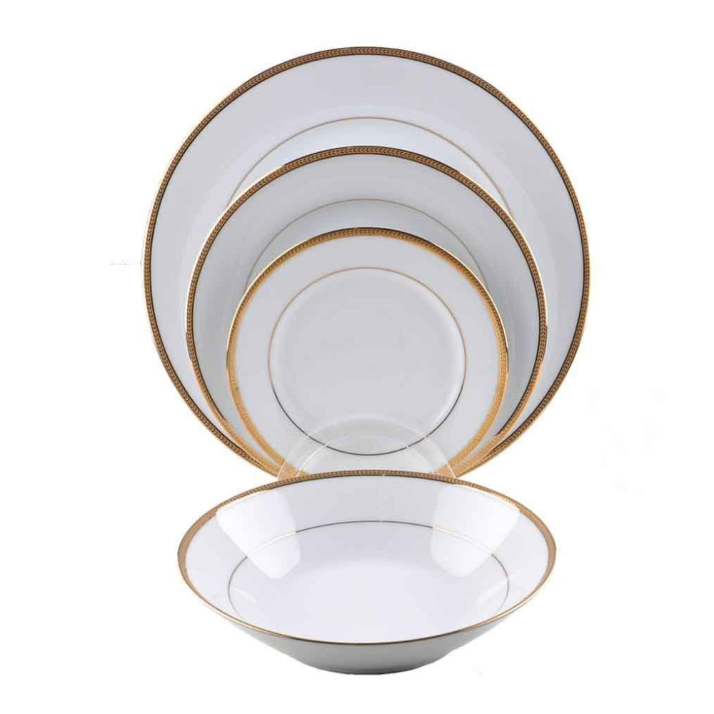 Toorak Gold 47 Piece Dinner Set