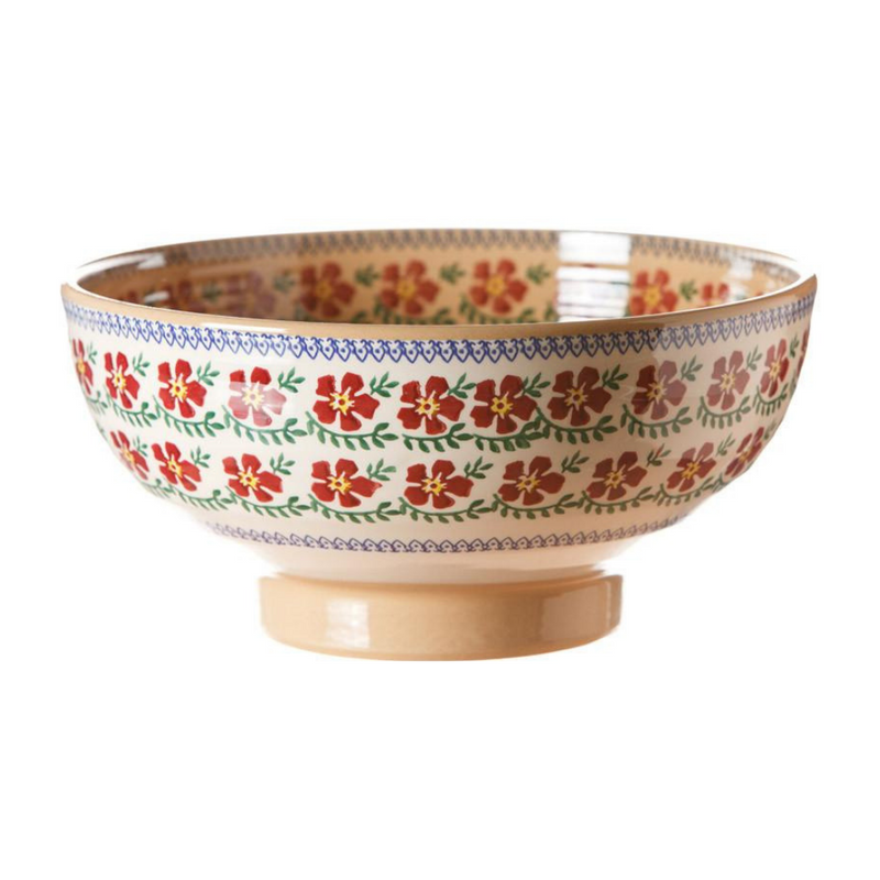 Salad Bowl Old Rose