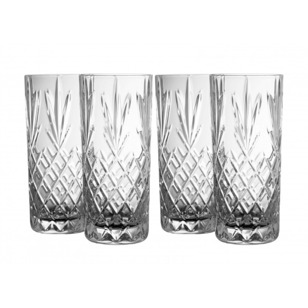 Galway Crystal Hi Ball glasses