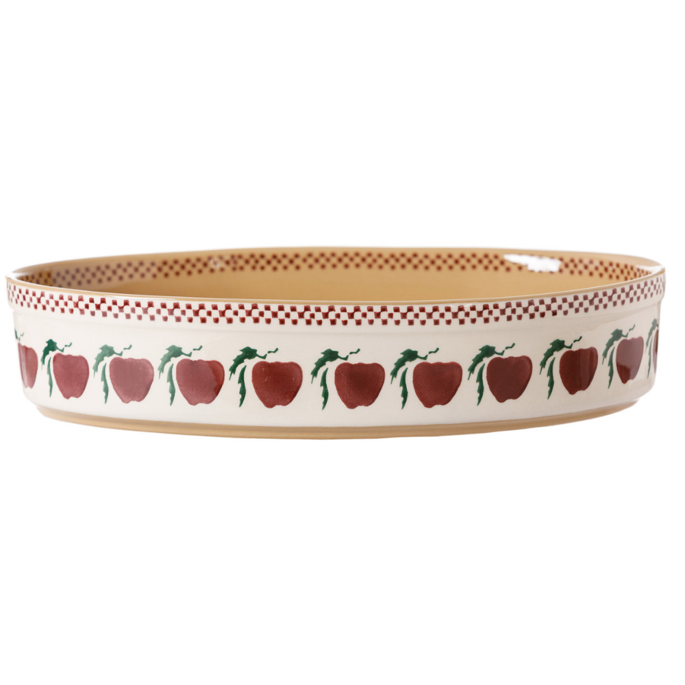 Medium Oval Oven Dish Apple