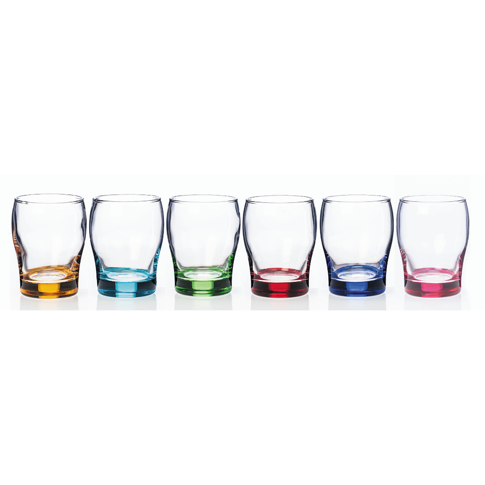 Rainbow Party Juice Glasses