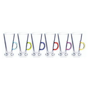 Rainbow Party Latte Glasses