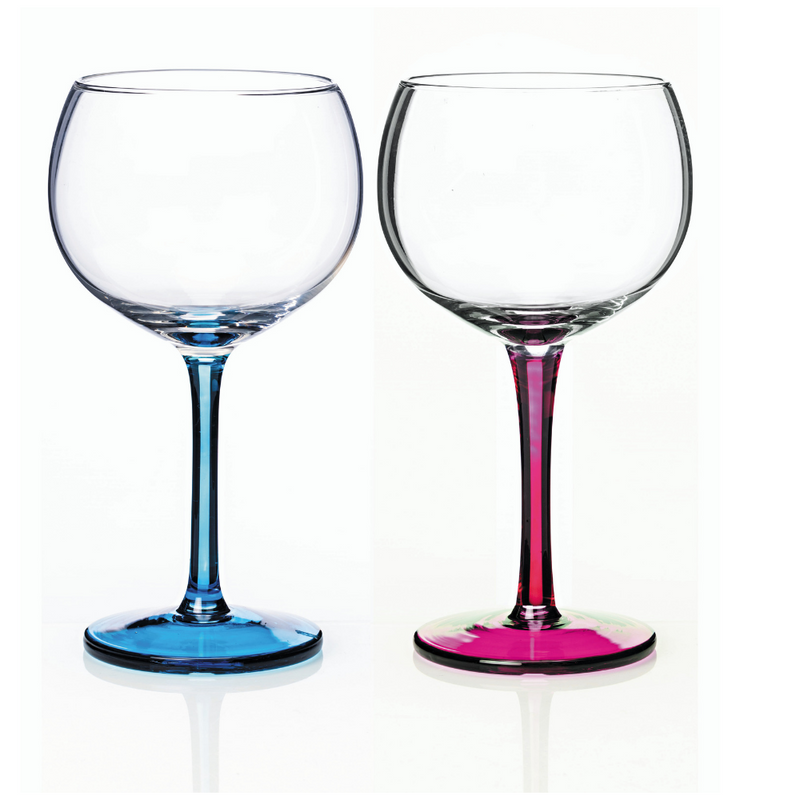 Rainbow Party Gin Glasses