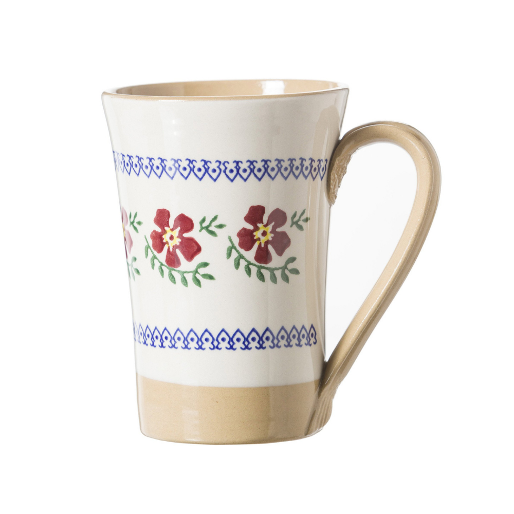Tall Mug Old Rose