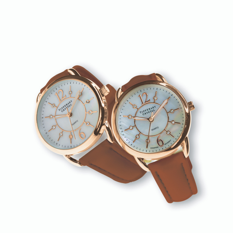 Infinity Rose Gold Ladies Watch