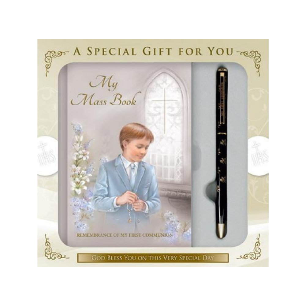 Holy Communion Keepsake Boy