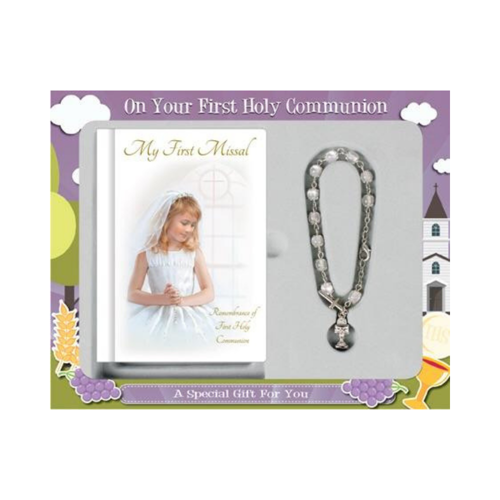 Holy Communion Girl Gift Set