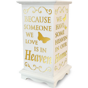 Because Someone we love is in Heaven LED Lantern