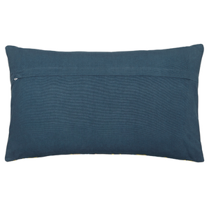 Goosegrass Cushion 30cm x 40cm- Blue