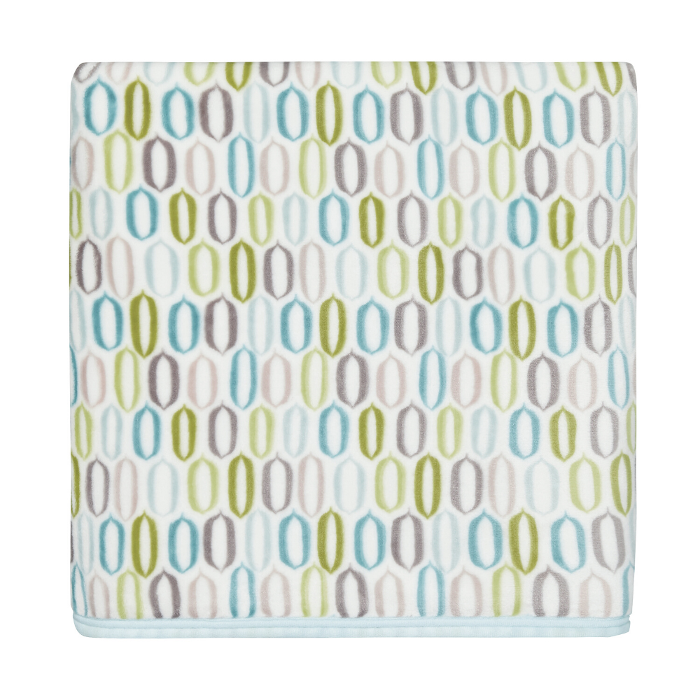 Amalie Fleece Throw- Aqua