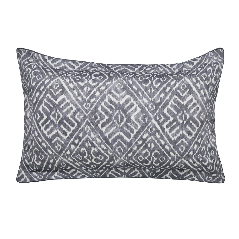Cadenza Oxford Pillowcase- Grey