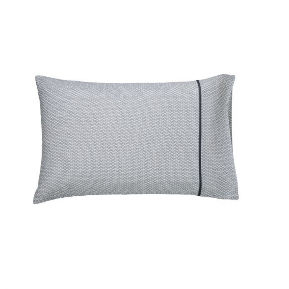 Cadenza Standard Pillowcase- Grey