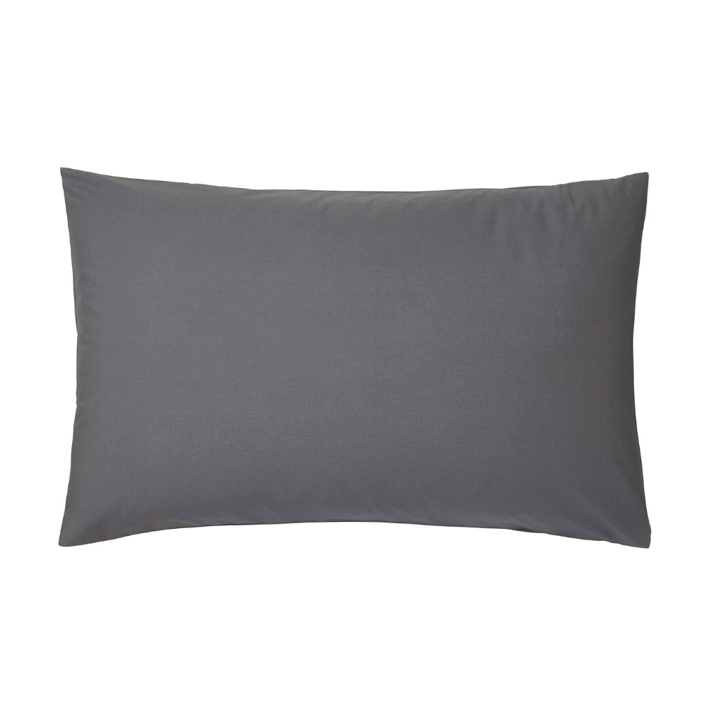 Standard Pillowcase Pair- Grey