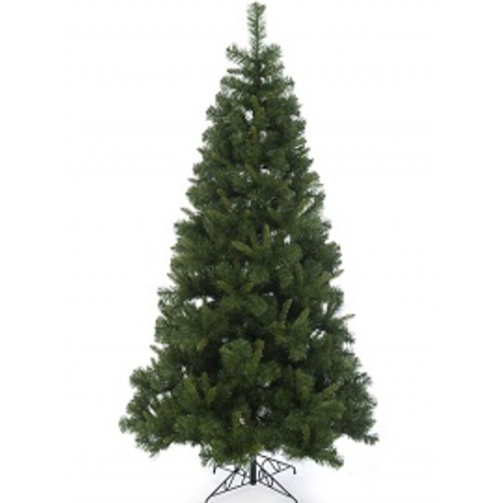 8FT BRAMPTON FIR PRE LIT TREE